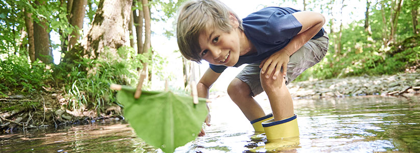 Life's better outside! With the outdoor items for children from Terra Kids