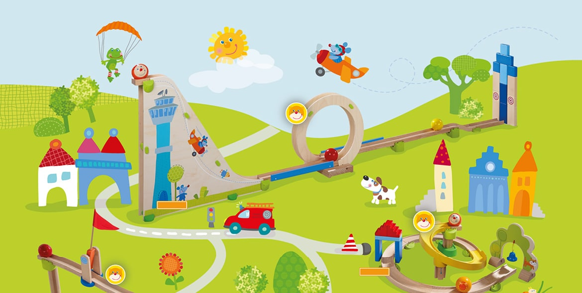Kullerbü play world from HABA