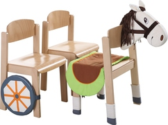 "Chair Cover Set ""Horse"""