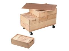 Cuboid Building Kit Wagon Cart