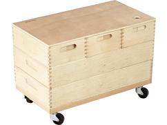 Ball Track Building Kit Wagon