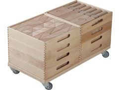 Fröbel Building Kit Wagon
