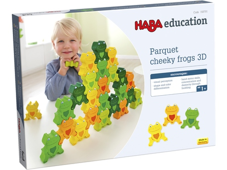 """""""Cheeky Frogs"""" 3D"""